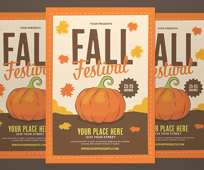 Awesome Fresh Flyer Template Designs