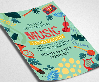 Post thumbnail of Elegant Attractive Flyer Template Designs