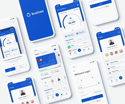 Creative Mobile App UI Templates : Freebie