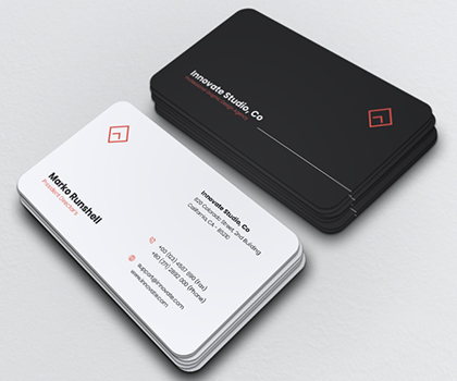 Modern Hand – Picked Business Card Templates