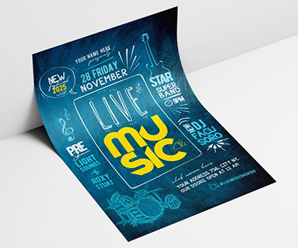 Perfect Stylish Flyer Template Designs