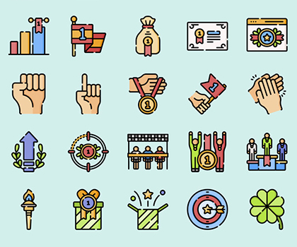 Freebie : 15 Fresh Icon Sets