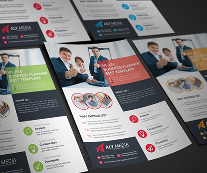 20 Popular Creative Flyer Template Designs