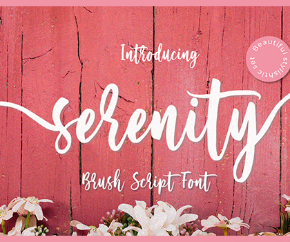 25 Best Brush and Script Fonts