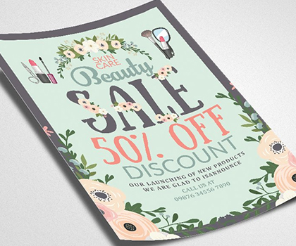 Elegant Stylish Flyer Template Designs