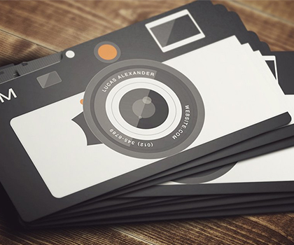 Modern Photographer Business Card Templates