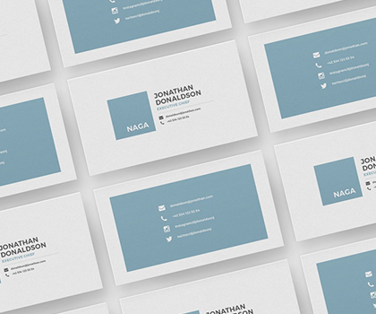 Simple Business Card Template Designs