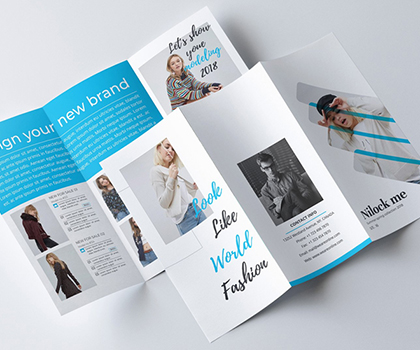Professional Tri-Fold Brochure Template Designs