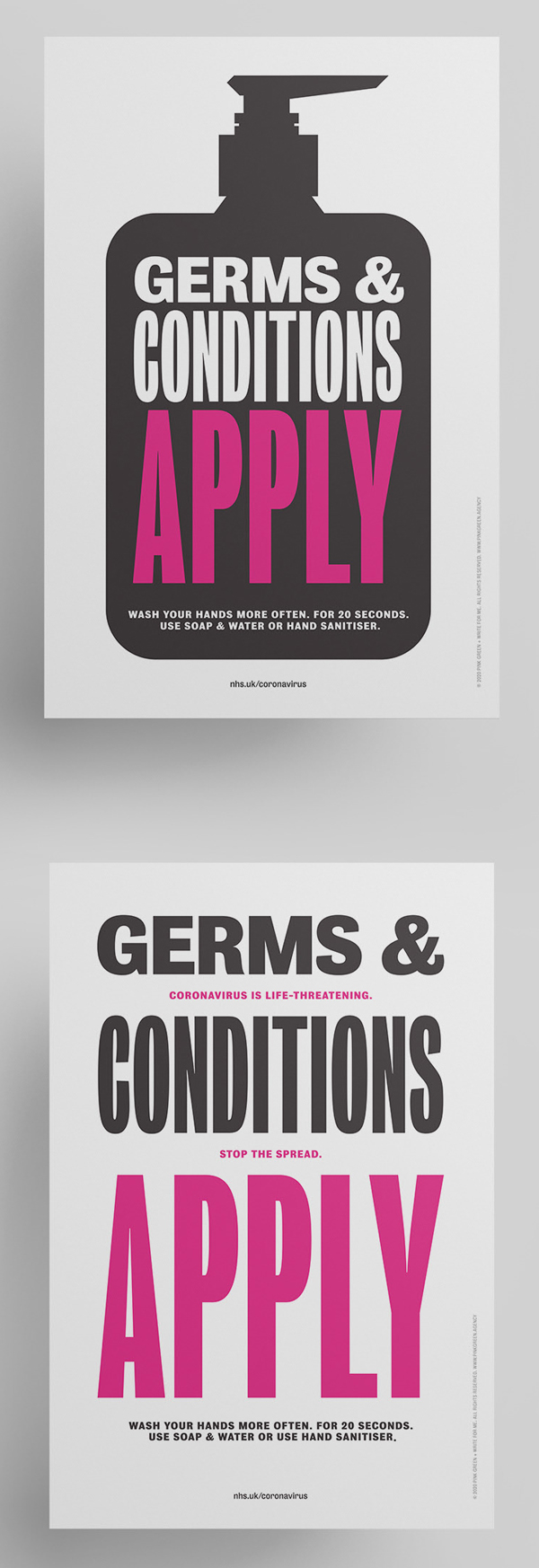 Germs and Conditions - Free Poster Download