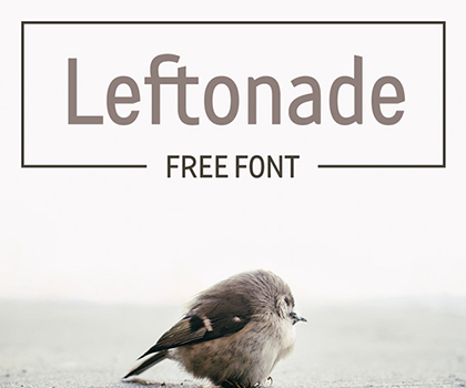 Post thumbnail of 25 Best Free Fonts 2019