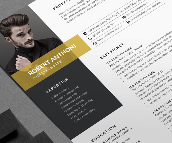best_resume_cv_template