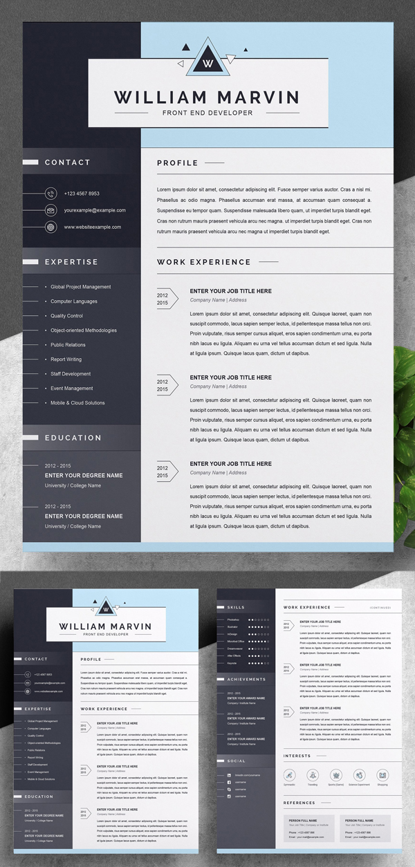 Modern and Creative Resume Template