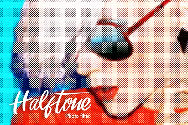 Awesome Halftone Photoshop Actions