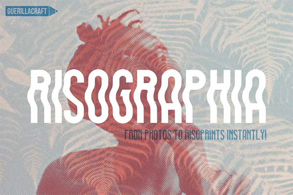 Risographia for Adobe Photoshop
