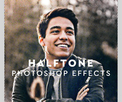 30+ Best Halftone Brushes and Actions for Photoshop and Illustrator
