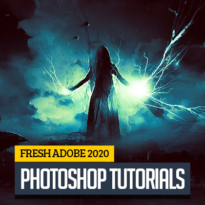 Post thumbnail of Fresh Photoshop Tutorials for Beginners