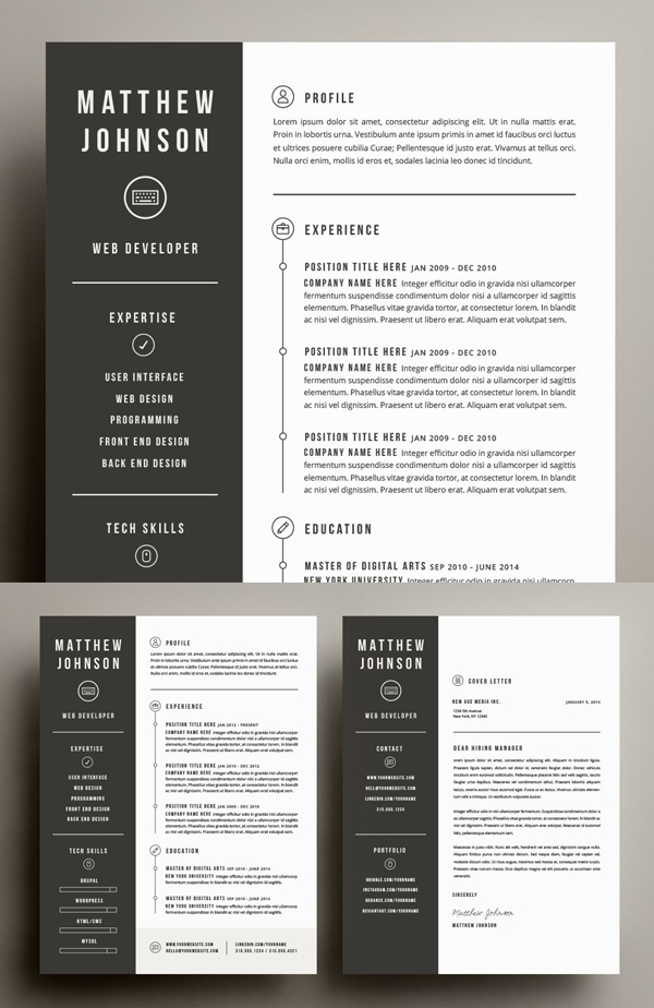Best Resume & Cover Letter Template