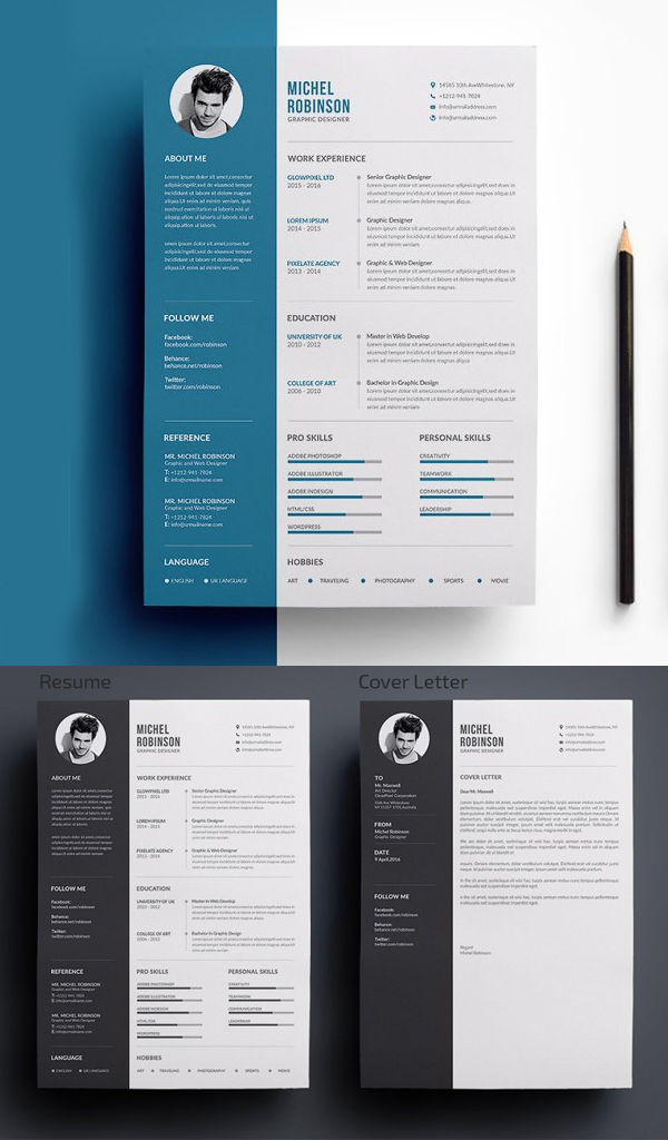 Perfect Creative Resume / CV