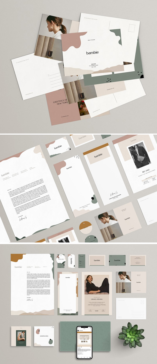 Bambie Brand Identity Pack