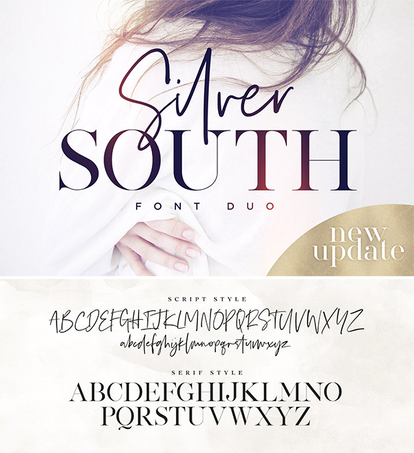 Silver South Font