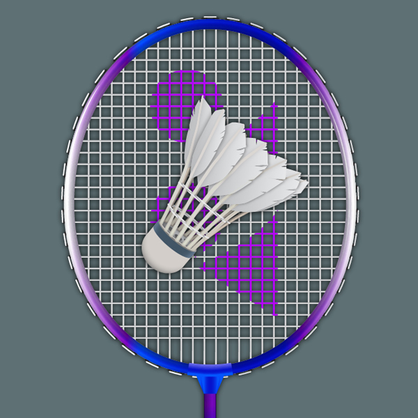 Create a Badminton Racket and a Shuttlecock in Adobe Illustrator