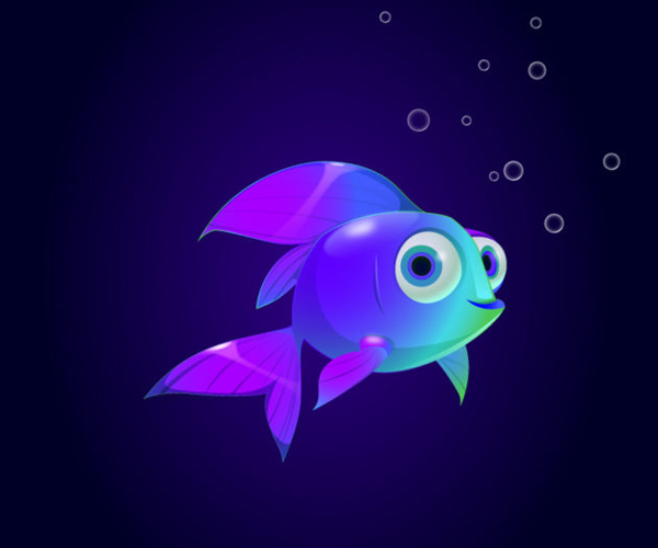 How to Create a Beautiful Fish Character in Adobe Illustrator