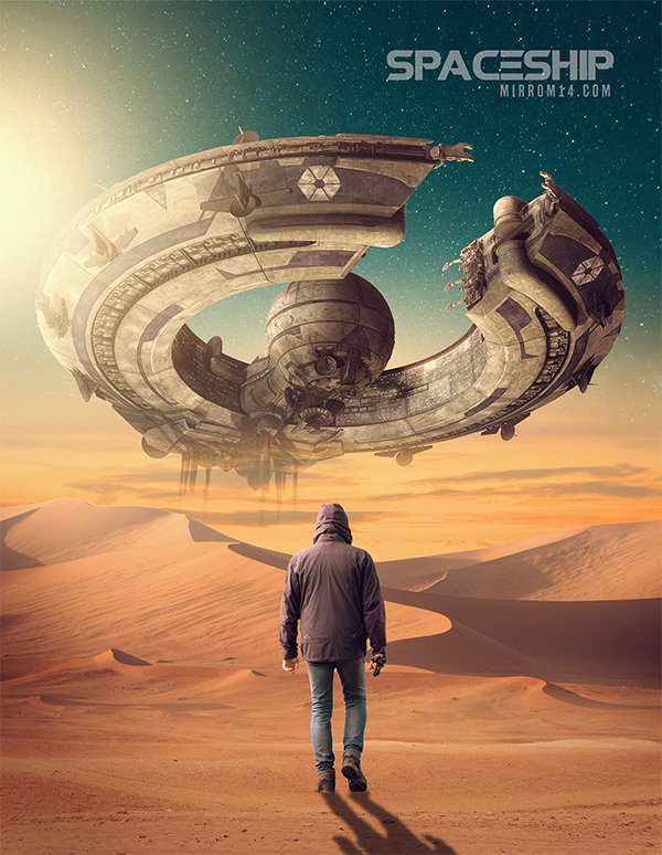 How to Create a Sci-fi Fantasy Photo Manipulation