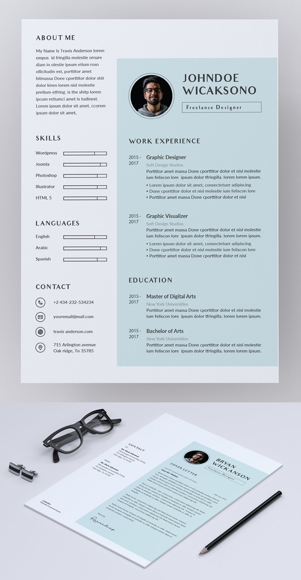 Professional Word Resume / CV