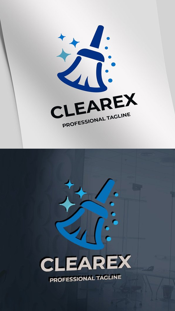 Proffesionel Cleaning Service Logo