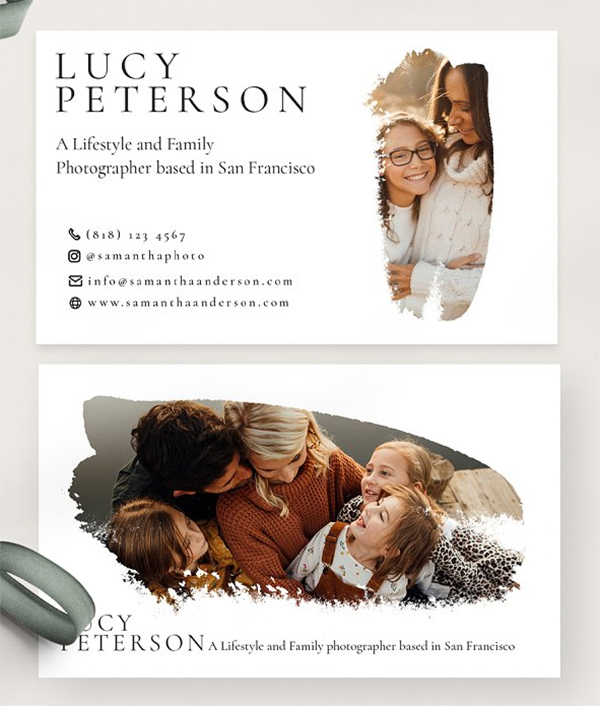 Classic Photography Business Card