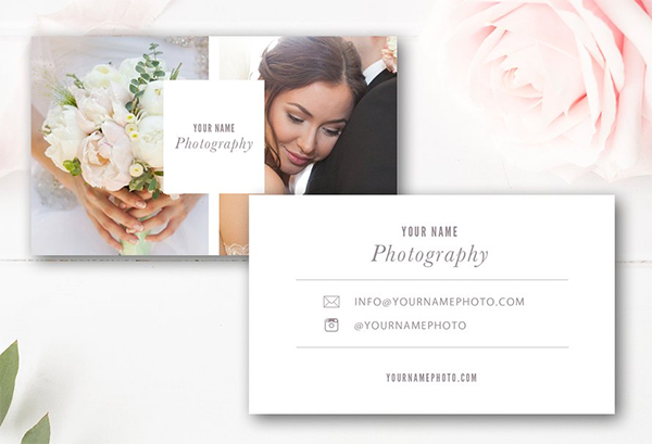 Digital Photography Business Card Template