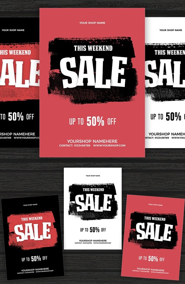 Awesome Sale Flyer Poster