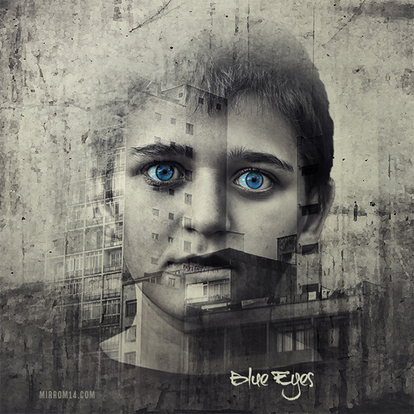Combining Textures With Photos to Create Digital Art Manipulation Photo