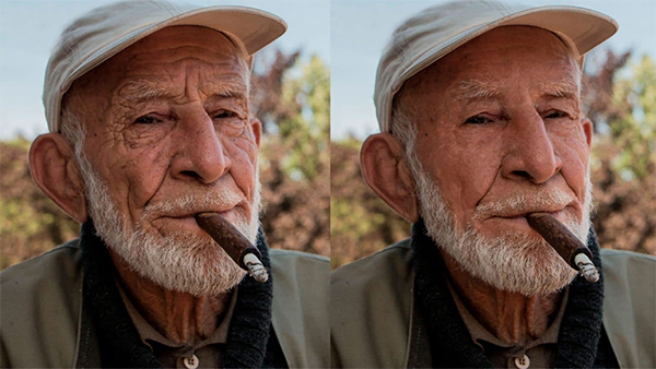 Super Effective Way of Wrinkle Removing in Photoshop