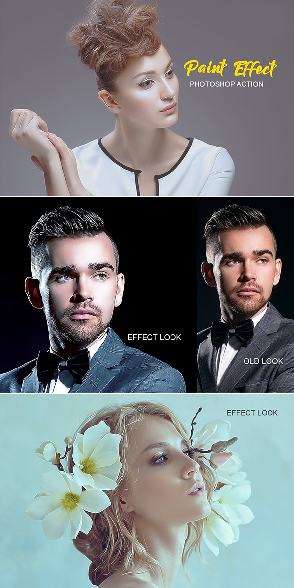 Awesome Paint Effect Photoshop Action