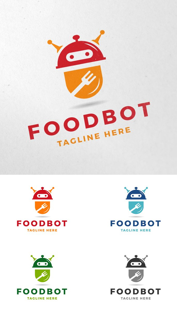 Food Bot Logo