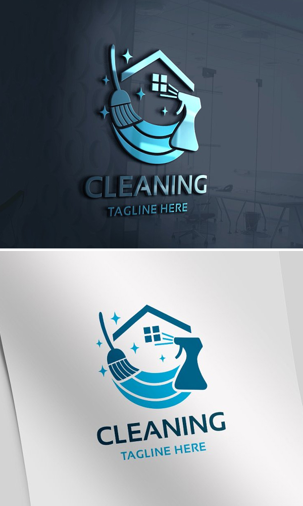 Cleaning Home Logo