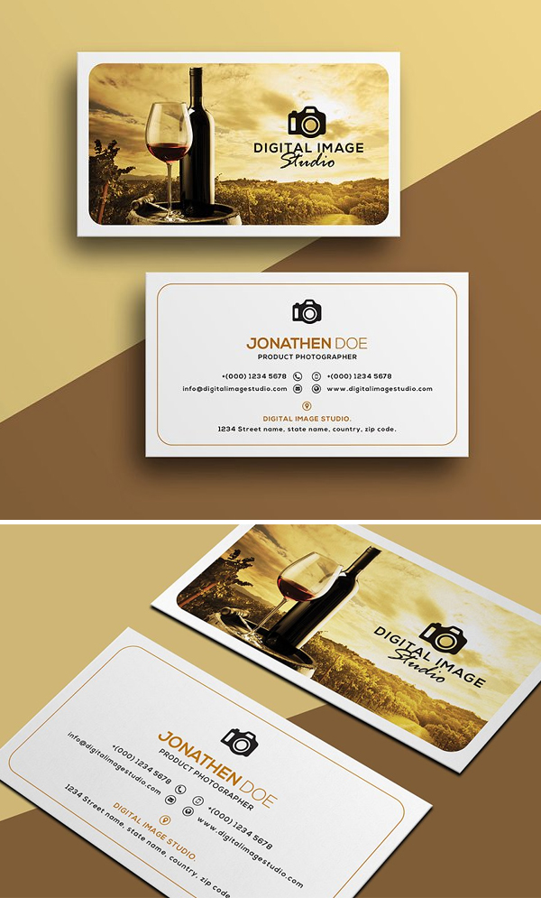 Best Photography Business Card