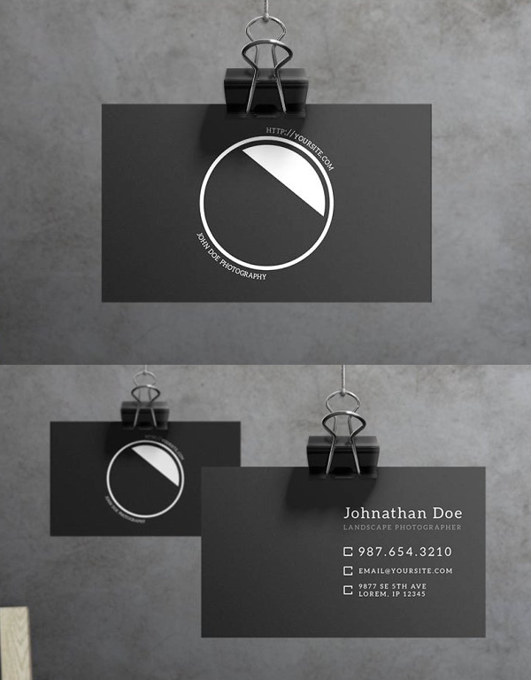Aperture - Business Card