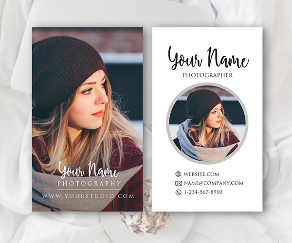 Modern Photography Business Card Template