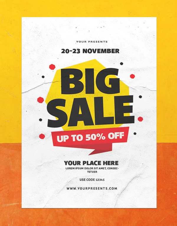 Awesome Big Sale Flyer