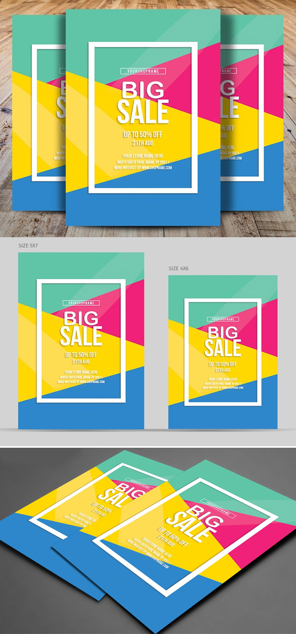 Perfect Big Sale Flyer Template