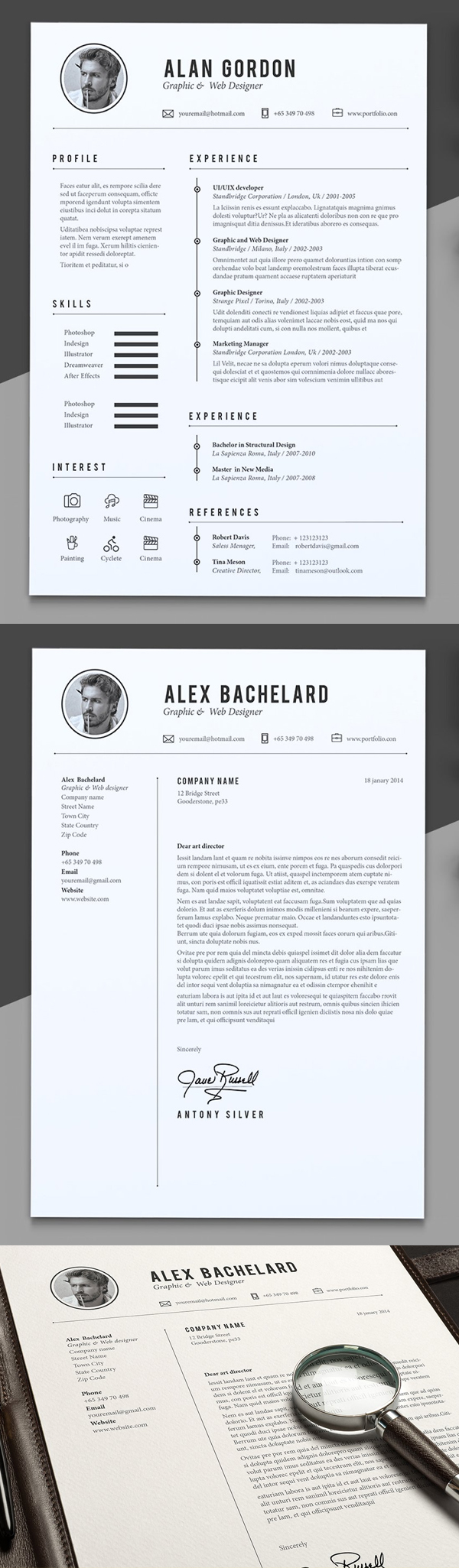 Alex Resume Template