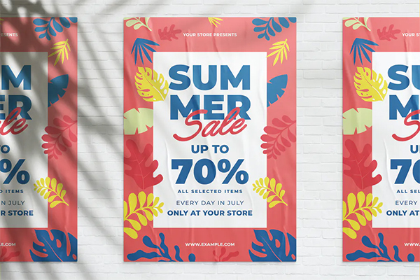 Awesome Summer Sale Flyer