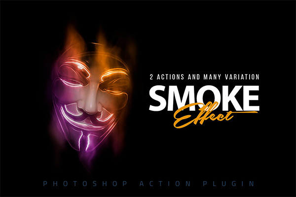 Awesome Smoke Effect Photoshop Action