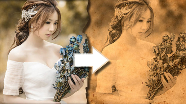 How To Create Vintage Old Photo Effect