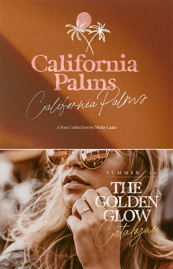 California Palms Fonts
