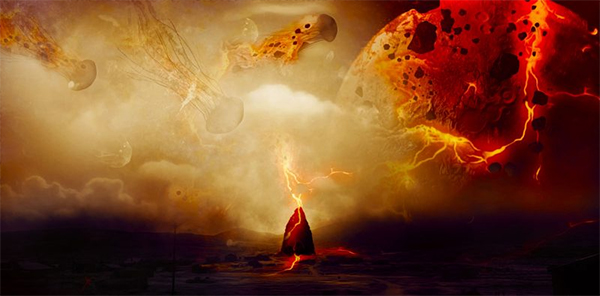 """Create """"Flying Jellyfish"""" Photo Effect in Photoshop"""