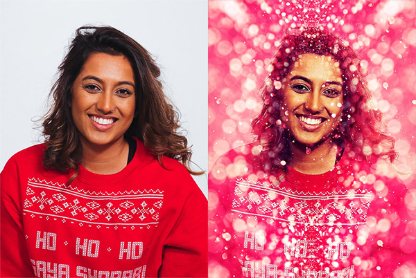 How to Create a Glitter Effect Photoshop Action