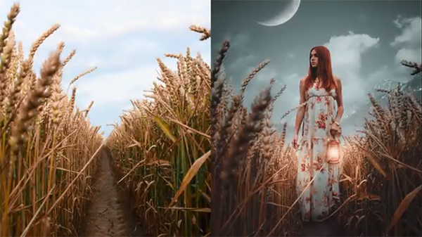 How to Create a Simple Scene in Photoshop